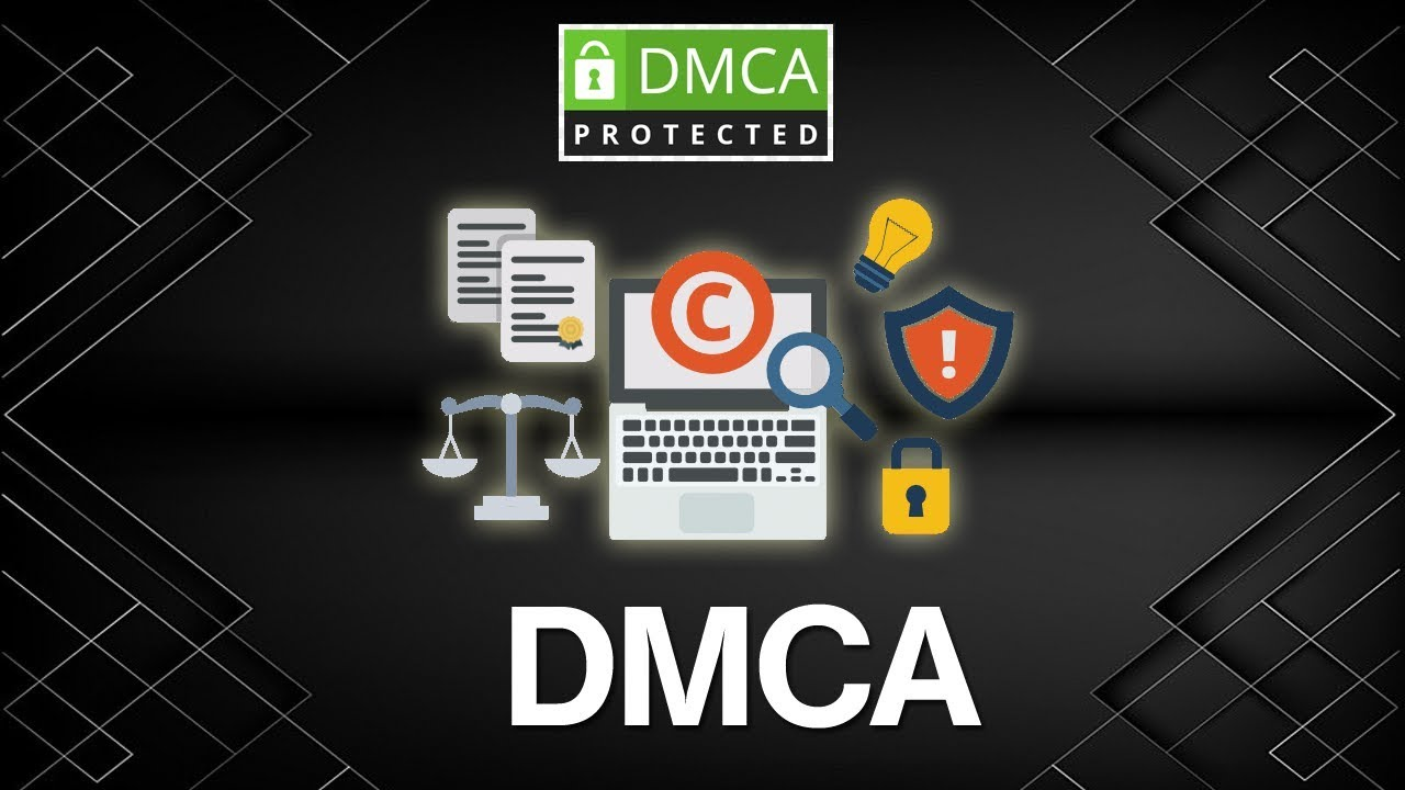 Exactly how to use the DMCA to secure your online service.